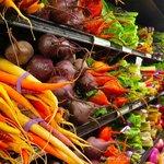 Wonderful selection of organic vegetables