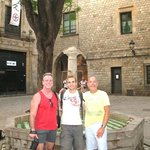 Peter, Mark, & Dennis on the Old Town / Gothic Quarter Barcelona Tour