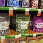 Hemp seed and Chia seed