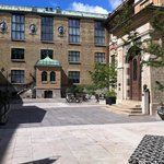 Museun' courtyard. Nice and quite placê in a center of the city