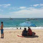 Una hermosa playa