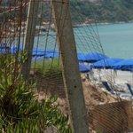 spiaggia rete
