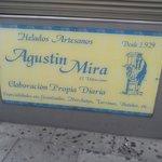 quiosco helados artesanos Agustin Mira