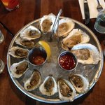 Three varieties of locally harvested oysters in this dozen!