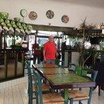 Inside of Green Cafe