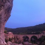 sunset in Minerve
