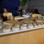 Cheese platter on August 8, 2014