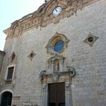 The front of the monastery