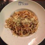 Espaguetis boloñesa menu