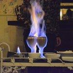 Flaming Coffee!