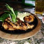 great grilled pork chop
