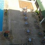 zona de mesas terraza