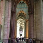 Inside the Church, very long for vertical direction