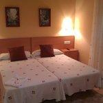 habitación super limpia y con camas excelentes