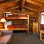 Two Queen Bunk Cabin