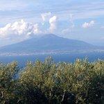 View of Vesuvius from Aminta
