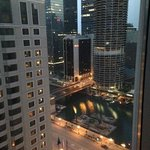 view from our room @ the theWit, Chicago