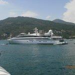 il nostro yacht dal lago di Lecco al mare di Lerici......magari