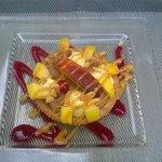 tartelette choco pistache
