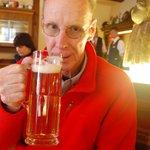 Stein of German beer