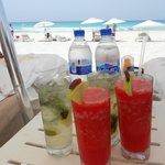 Beach service - liquid lunch