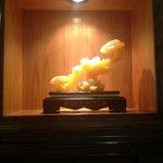 Tasteful decorations in Kura
