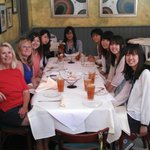 University of Shizuoka students love Leo's Italian food!