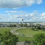 9th floor Concierge Louge view of Lambert Airport