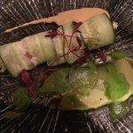 Crab in cucumber