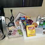 Free snacks and drinks for Gold/Platinum Hilton members