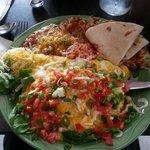 Chilaquiles - yum!