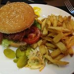 The works burger.