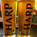 Harp Lager!