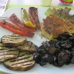 Chick Pea 'Tortilla' with Contorno
