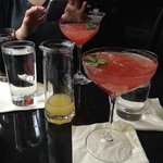 another brunch option Fresh Watermelon cocktail