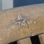 White Star Line Symbol on the Deck Chair