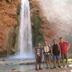 with Supai Ty of Center Focus adventure guide