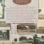 Wonderful old photos and description of the restaurant