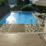 Pool belonging to Villa No. 1