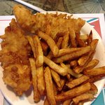2 piece fish and chips