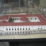Model of the Roman Market found under the church
