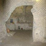 Underground room of the Roman market