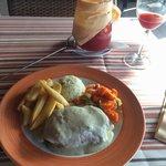 Fillet steak with roquefort