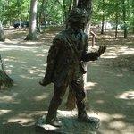 Henry D Thoreau Statue 8/8/2014