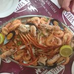 Seafood platter for 2 @ 20€