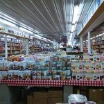 Long view of the candy superstore