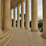 Jefferson Memorial - Perimeter colonnade