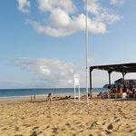 Lounge bar na praia