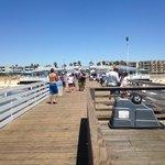 pier near hotel...fishing allowed