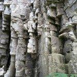 Rocks along the hike